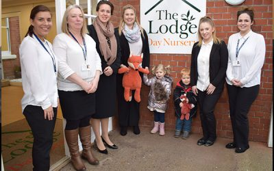The Lodge opens its doors to first children – January 2018