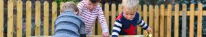 Outside play at Lodge Day Nursery